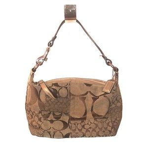 Authentic Coach Mini Hobo Patchwork purse